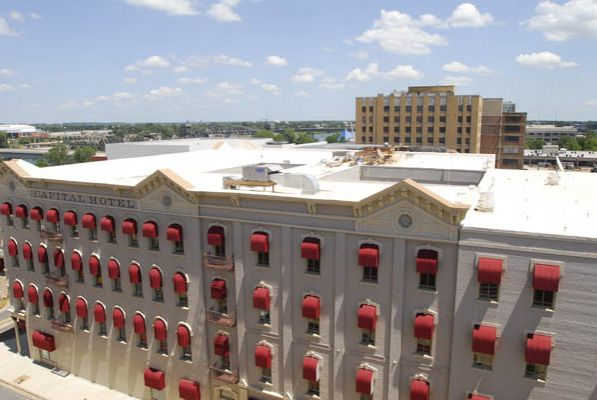 Roberts-McNutt Commercial Roofing of the Capitol Hotel