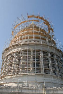 Commercial Roofing Repair on Arkansas State Capitol by Roberts McNutt